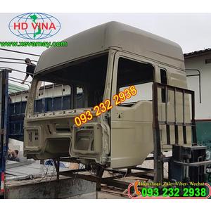 Bán cabin mộc xe đầu kéo SHACMAN M3000 giá tốt, giá rẻ