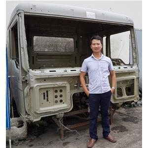 Bán cabin mộc xe SHACMAN M3000, Bán cabin xe ben, xe thùng, xe trộn bê tông, xe đầu kéo... SHACMAN