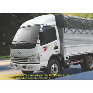Bán cabin thay thế cho xe thùng Cuulong Cửu Long TMT các loại 1,25 1,5 2,5 5 6 8 10 tấn...