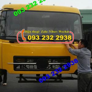 bán cabin xe ben 3 chân, 4 chân Dongfeng, bán cabin Dongfeng Viet trung, Hoàng Huy, Trường Giang...