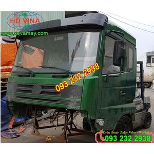 Bán cabin xe ben 3 chân CỬU LONG TMT MOTOR DONGFENG 260, bán cabin và phụ tùng thay thế giá tốt