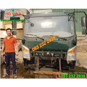 Bán cabin xe ben CUULONG TMT 5 tấn 6,5 tấn. Cabin thay thế giá tốt