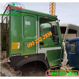 Bán cabin xe ben Howo 371 ps, kính điện, ghế hơi, cabin xe ben 3 chân, 4 chân, 5 chân Howo