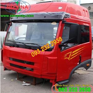 Bán cabin xe đầu kéo 1 cầu FAW 240 Ps, 220 Ps, 210 ps, bán cabin xe thùng, tưới nước, xăng dầu FAW