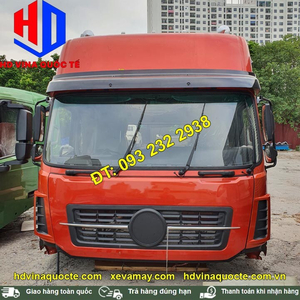 Bán cabin xe đầu kéo, tải thùng, xe ben Dongfeng nóc cao, màu đỏ, màu vàng và các màu khác