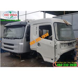 Bán cabin xe DAYUN đầu kéo, tải thùng, xe ben các loại cabin xe DAYUN