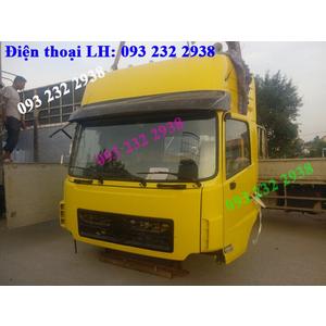 Bán cabin xe Dongfeng, cabin, Dongfeng Hoàng Huy, Hồ Bắc, Việt Trung, tải thùng, đầu kéo, xe ben...