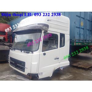 Bán cabin xe DONGFENG màu trắng, DONGFENG Viet Trung, Hoang Huy, Hoang Gia, Truong Giang, Ho Bac