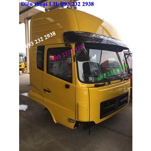 Bán cabin xe DONGFENG màu vàng, cabinDONGFENG Viet Trung, Hoang Huy, Hoang Gia, Truong Giang, Ho Bac