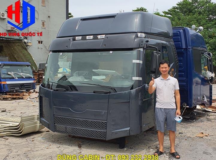 Bán cabin xe đầu kéo FAW J6 375 420 Ps