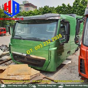 Bán cabin xe Howo A7 nóc thấp, bán cabin xe đầu kéo, xe thùng, xe ben, xe trộn bê tông Howo A7 nóc thấp