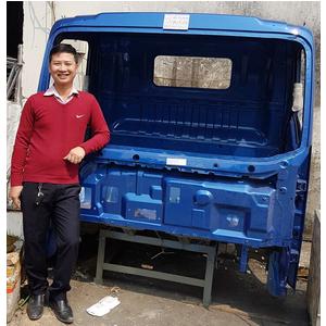 Bán cabin xe HOWO TMT SINOTRUK 6 tấn 2 chân, xe thùng, xe ben, cabin mộc và tổng thành.