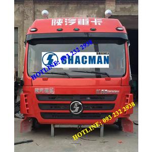 Bán cabin xe SHACMAN M3000, Cabin xe SHACMAN nóc cao 2 giường nằm, cabin đầu kéo, xe thùng, xe ben..