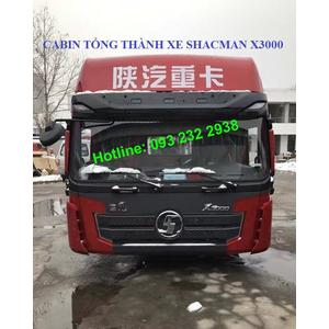 Bán cabin xe SHACMAN X3000, Bán cabin xe thùng, xe ben, xe đầu kéo, xe tải SHACMAN X3000 giá tốt