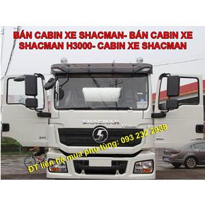 Bán cabin xe tải SHACMAN H3000, bán cabin xe đầu kéo, xe ben, trộn bê tông, chuyên dụng SHACMANH3000