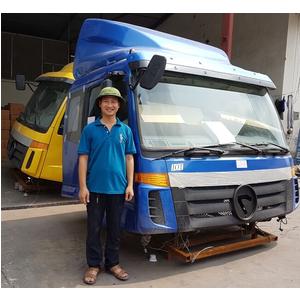 Bán cabin xe tải Thaco Auman 4 chân, 5 chân, bán cabin xe tải Thaco Foton Auman Các Loại