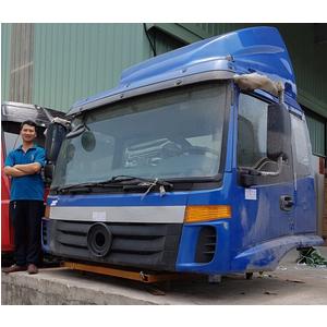 Bán cabin xe tải thùng 3 chân THACO FOTON AUMAN 2 dí 1 cầu, 2 cầu 1 dí, loại 2 cần gạt nước mưa