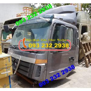 Bán cabin xe tải thùng 5 chân Thaco Auman, 3 cần gạt nước mưa
