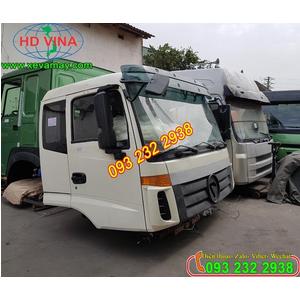 Bán cabin xe tải thùng FOTON THACO AUMAN màu trắng, 5 chân, 4 chân, 3 chân,...