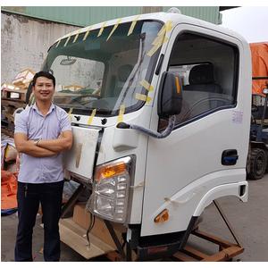 Bán cabin xe tải thùng VEAM VT350 VT250, cabin thay thế cho xe Veam giá tốt nhất