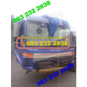 Bán cabin xe thùng 3 chân 2 dí 1 cầu, xe 2 chân, Thaco Foton Auman giá tốt nhất, rẻ nhất
