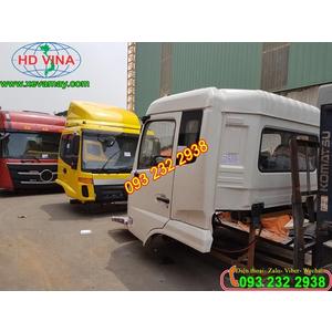 Bán cabin xe thùng 3 chân DONGFENG màu trắng và các màu khác