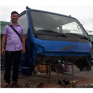 Bán cabin xe thùng 7,5 tấn CỬU LONG TMT , Bán cabin mộc, cabin tổng thành TMT Cửu Long thay thế