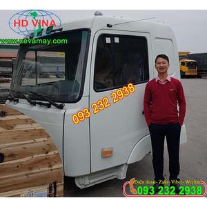 Bán cabin xe thùng CAMC HINO, 3 chân, 4 chân, 5 chân, cabin xe CAMC HINO