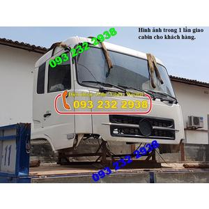 Bán cabin xe trộn bê tông DONGFENG 5 7 8 9 10 12 m3 khối giá tốt