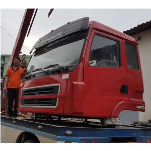 Bán cabin xe trộn bê tông Dongfeng Chenglong Haiau, cabin xe tải ben, xe thùng, xe trộn bê tông...