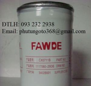 Bán các loại lọc xe FAW Lọc dầu, Lọc nhiên liệu, Lọc tách nước, Lọc gió... xe Faw