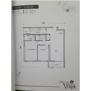 Bán căn hộ dự án Vista Verde, P. Thạnh Mỹ Lợi, Q2