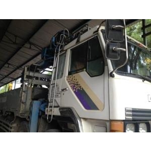 Bán cẩu tự hành 4 chân HYUNDAI sản xuất đời 97 lắp cẩu TADANO 12 tấn cũ đã qua sử dụng