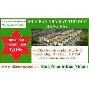 Bán Đất 2 MT Đường Ngay ĐH Luật,Nhà Thờ Fatima 5x27m P.HBC Q.TĐ Thổ Cư 100%