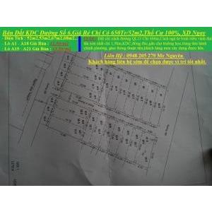 Bán Đất,4x13,ĐS 6,Phường Hiệp Bình Phước,Quận Thủ Đức