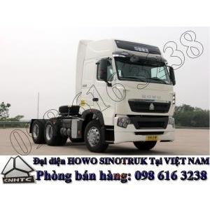 Bán đầu kéo Howo A7 2 cầu công suất 375 ps 380 ps 390 ps 420 ps giá tốt nhất