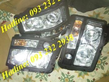 Bán đèn pha xe SHACMAN SHANSI FAW JAC CAMC DONGFENG CHENGLONG HOWO HOKA C&C HOHAN...