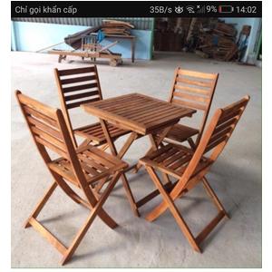 bàn ghế cafe cao