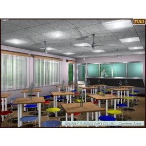 Bàn ghế Canteen BGCT020