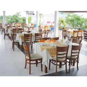 Bàn ghế nhà hàng ở HCM