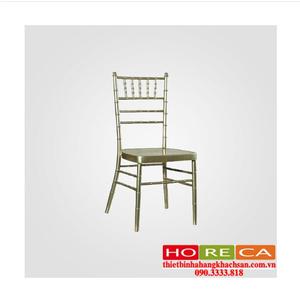 Bàn ghế nhà hàng tiệc cưới - ghế nhà hàng Tiffany bạc TFN-002