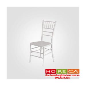 Bàn ghế nhà hàng tiệc cưới - ghế nhà hàng Tiffany trắng TFN-001