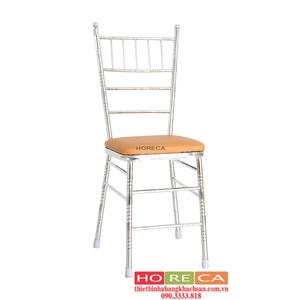 Bàn ghế nhà hàng tiệc cưới - ghế nhà hàng Tiffany trắng TFN-005