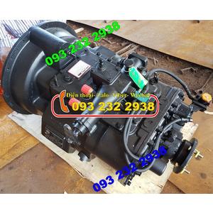 Bán hộp số FAST GEAR 9JS119T-B, bán hộp số xe thùng 3 chân Dongfeng C260 Hoàng Huy, Hoàng Gia...