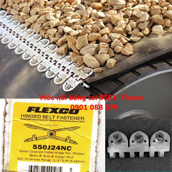Bản lề nối băng tải từ 6mm đến 16mm 550J Flexco (Mỹ)