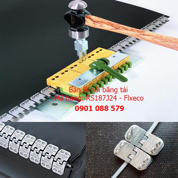 Bản lề nối băng tải từ 4.8mm đến 6.4mm RS187J24 Flexco (Mỹ)