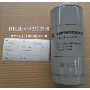 Bán lọc dầu VG61000070005 Sinotruk: Howo Hoka.....