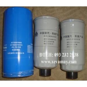 Bán lọc nhiên liệu VG14080739A VG14080740A SINOTRUK CNHTC: HOWO HOKA...