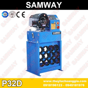 BÁN MÁY BẤM ỐNG CAO SU P32D