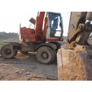 Bán máy xúc đào bánh lốp SOLA 130 SX 97 cũ đã qua sử dụng